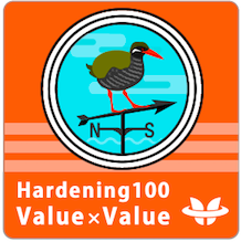 Hardening Project 2016 Hardening 100 Value x Value