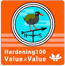 Hardening Project 2016 Hardening 100 Value x Value